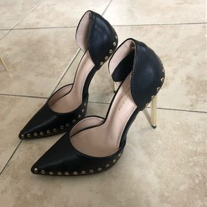 Worn once pointy heels 6